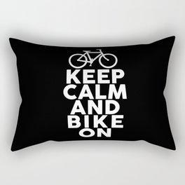 Bike Love Cycling BMX Mountain Bike Tour Rectangular Pillow