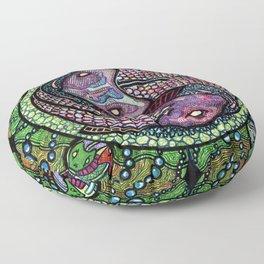 Two Fish Floor Pillow