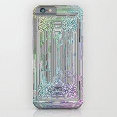 Free Rainbow Border iPhone 6 Slim Case