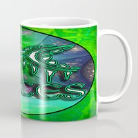 astrology Mugs featuring Pisces Zodiac Sign Astrology by CAP Artwork & Design