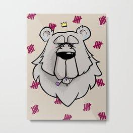 King Pin Metal Print