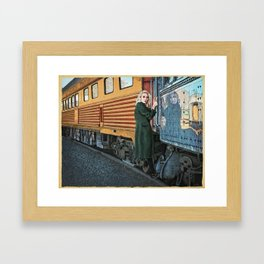A Departure Framed Art Print