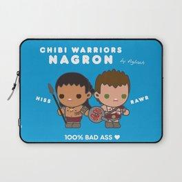Chibi Warriors Nagron (Spartacus) Laptop Sleeve