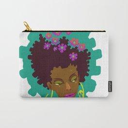 Cabelo em flor Carry-All Pouch