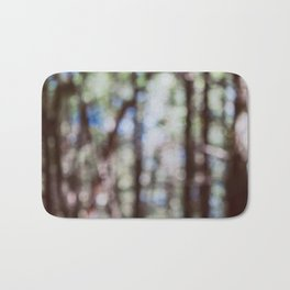 Mystify - Abstract Forest Landscape Bath Mat