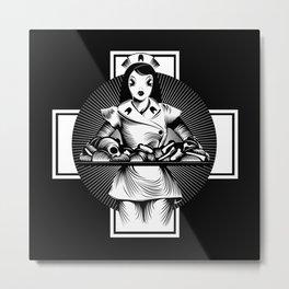 Nurse Metal Print