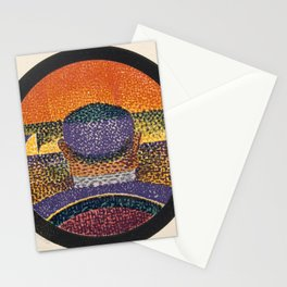 Application of Charles Henry's Chromatic Circle Stationery Cards
