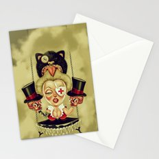 Hanging from Above Stationery Cards