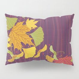 Maple Leaves Pillow Sham