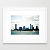 milwaukee Framed Art Prints featuring Milwaukee, WI by T. Todd Photos