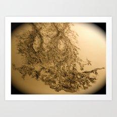 Yael-base linkage Art Print