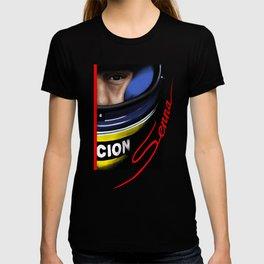 Senna Helmet Portrait T-shirt