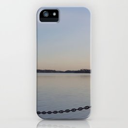 Gorgeous Chained Lake View iPhone Case