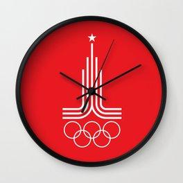Olympiad-80 (white) Wall Clock