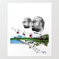 Wishful Thinker Art Print