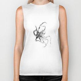 Octopus Biker Tank