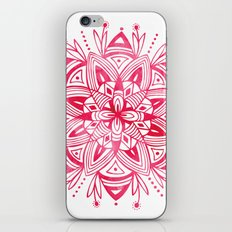 Mandala - Pink Watercolor iPhone & iPod Skin