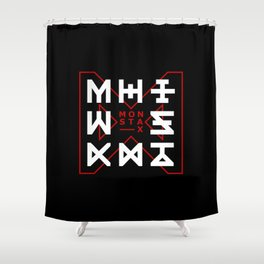 Monsta X -The Code Shower Curtain