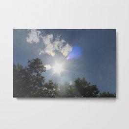 Rays for days Metal Print