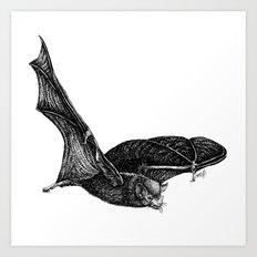 Bat tongue Art Print