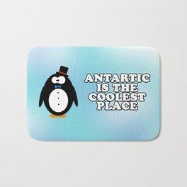 Antartic is the coolest place! Bath Mat