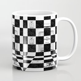 No 5 Chess Coffee Mug