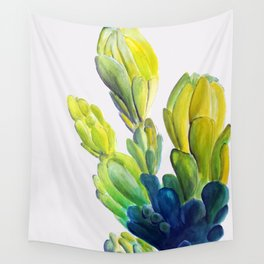Cactus flowers Wall Tapestry