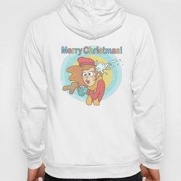 Merry Christmas Snowball Hoody