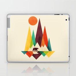 Bear In Whimsical Wild Laptop & iPad Skin