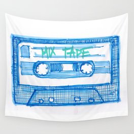 MIX TAPE Wall Tapestry