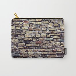 Brick Wall Pattern Carry-All Pouch
