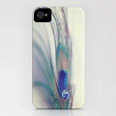 Peacock Drop Slim Case iPhone (4, 4s)