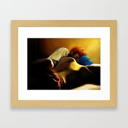 Was it a Dream? | Aokaga Framed Art Print