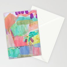 Coral Water Stationery Cards