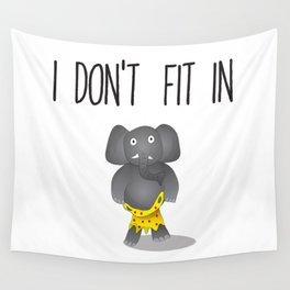 no fit Wall Tapestry