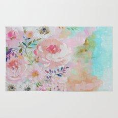 Acrylic rose garden  Rug