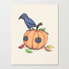 Plushie Fall Canvas Print
