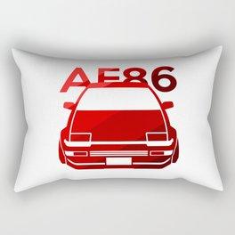 Toyota AE86 Hachi Roku - classic red - Rectangular Pillow