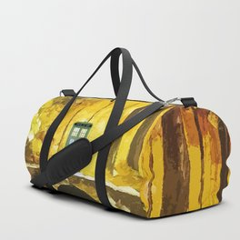 Tardis Art Shine Duffle Bag