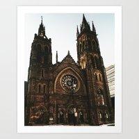 Church vibes Art Print