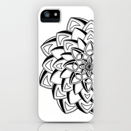 """Galant"" - Handrawn Mandala Art iPhone Case"