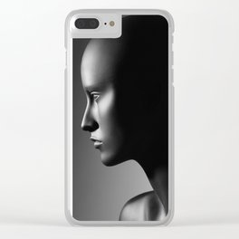 Mannequin Clear iPhone Case