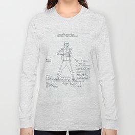 Confidence Drawing, Transitions through Triathlon Long Sleeve T-shirt