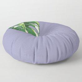 house monstera #3 Floor Pillow