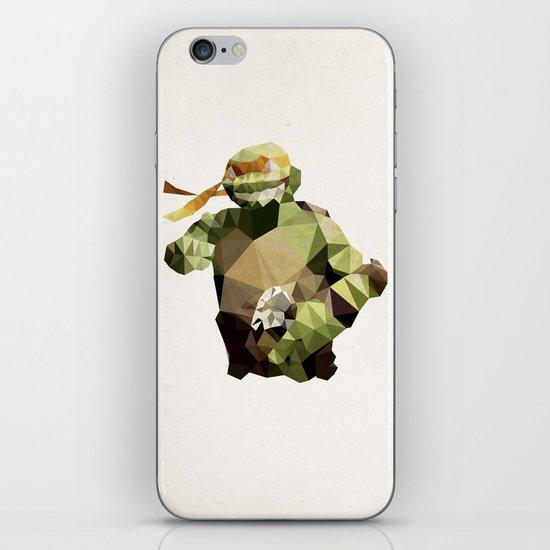 Polygon Heroes - Michelangelo iPhone & iPod Skin
