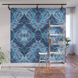 Textured Soothing Geometric Wall Mural