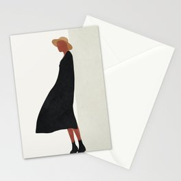 Squared Model Flow Stationery Cards