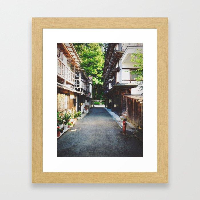 Alleyway   Framed Art Print