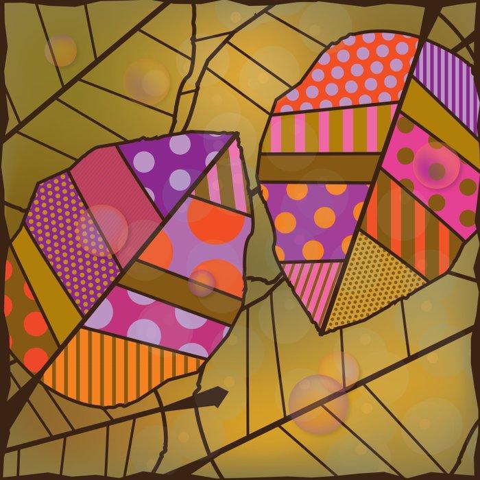 Autumn Leaves (Patterned Leaf Patchwork) Duvet Cover