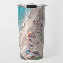 Waikiki Beach Travel Mug